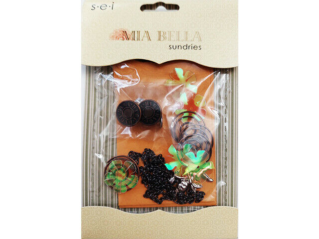 SEI Mia Bella Sundries for Scrapbooking, Cards, Journaling and More