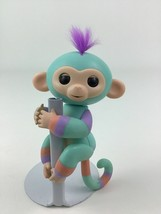 WowWee Fingerlings Interactive Monkey Sea Foam Green Orange Purple Toy 2016 - $11.83