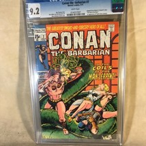 Conan the Barbarian #7 1971 Marvel Comics CGC Graded 9.2 - £110.97 GBP