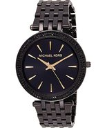 Michael Kors Darci Ladies Watch MK3337 Black New with Tags 2 Years with ... - $149.90