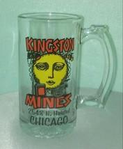 KINGSTON MINES Glass Mug / Chicago / Blues Nightclub / Lincoln Park RARE - $38.61