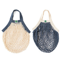 EcoBags Products Mini String Bag Organic Cotton Tote Two Color Choices - $15.99