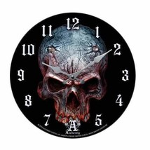 Pacific Giftware Alchemy Gothic Birth of a Demon Clock Home Decor Skull ... - $19.99