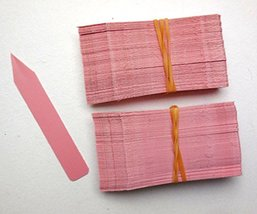 """3000 Pink Plastic Plant Stakes Labels Nursery Tags Made in USA - 4"""" X 5/8"""" - $118.80"""