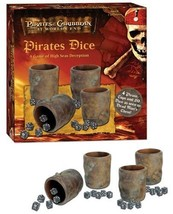 Pirates of the Caribbean Pirates Dice: A Game of High Seas Deception - $107.85