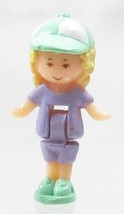1992 Vintage Polly Pocket Doll Ladybird Pen Pal - Polly Bluebird Toys - $7.50
