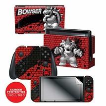 Controller Gear Nintendo Switch Skin & Screen Protector Set - Super Mari... - $31.89