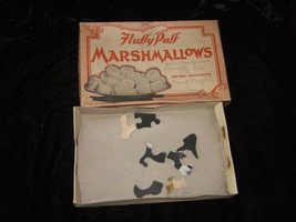 Fluffy Puff Marshmallows Box Vintage Food Package - $26.99