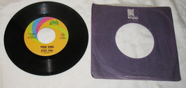 "Elton John's ""Your Song"" 45 rpm 1970 - $9.99"