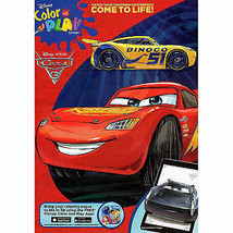 DISNEY CARS MCQUEEN Kids Coloring & Activity Books 96 Pages w - $5.29