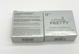 It Cosmetics Naturally Pretty Anti-aging Luxe Eyeshadow Trio ~ YOU PICK SHADE - $18.50
