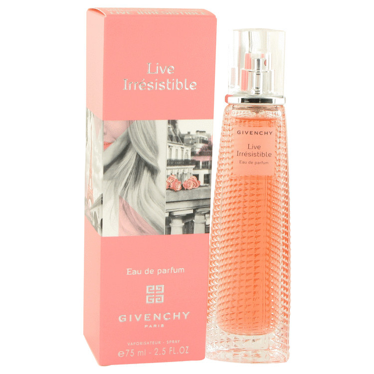 Givenchy Live Irresistible Perfume 2.5 Oz Eau De Parfum Spray