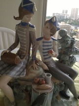 Lladro - Vivandiere & Soldier Lladró ~ Retired 1979  - $899.99