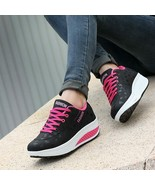 2019 women shoes creepers breathable pu leather shoes woma lace-up soft ... - $20.99