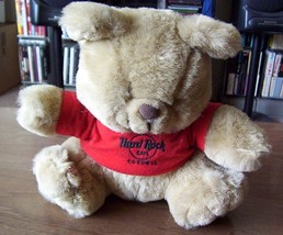 HARD ROCK Cafe COZUMEL plush teddy bear HRC red... - $9.00