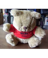 HARD ROCK Cafe COZUMEL plush teddy bear HRC red tee - $9.00