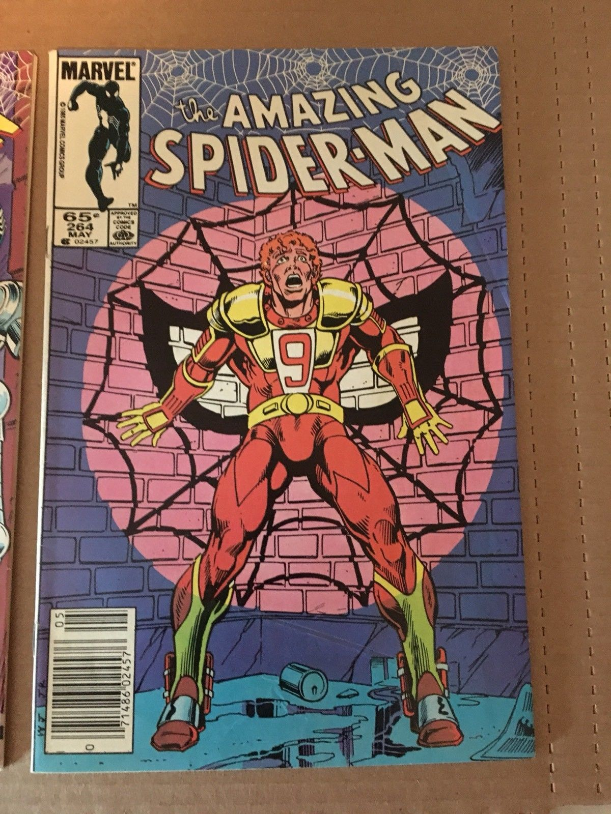 Amazing Spider-Man 263 264 Marvel Comic Book 1983 FN Condition