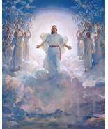 Jesus Christ Second Coming Picture 8X10 New Fine Art Color Print Vintage... - $4.99