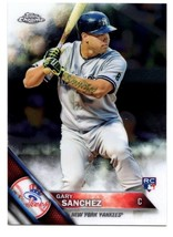 GARY SANCHEZ RC 2016 TOPPS CHROME ROOKIE CARD GEM MINT?-NY YANKEES C RC - $9.89