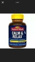 Stress Relief ~ Calm & Relax ~ Magnesium & Sensoril Ashwagandha ~ 60 Veggie Caps - $24.22