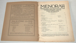 MENORAH Judaica Rare Illustrated Monthly for the Jewish Home Sept. 1928 Austria image 2