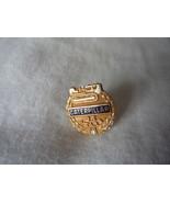 Vintage 14kt Gold & Diamond Caterpillar 25 Years of Service  Award Pin - $80.00