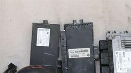 08 Mini Cooper R55 ECU ECM DME CAS3 Computer Ignition Switch Fob Tach SET - 6spd image 3