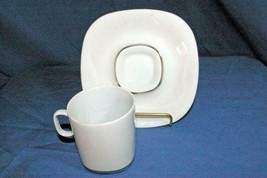 Block Langenthal Rings Transitions Cup And Saucer Set 6 oz - $8.99