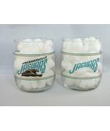 Jacksonville Jaguars Barrel Glasses - Set of Two (2) - Great Set for Fans!! - £5.77 GBP