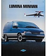 1995 Chevrolet LUMINA MINIVAN sales brochure catalog 95 US Chevy - $6.00