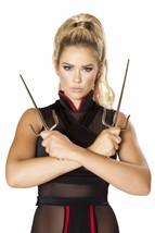 Ninja Tridents Knives (1 pair) Costume Accessory 4643 - $12.95
