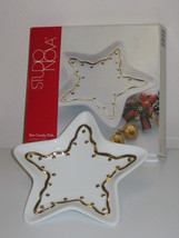 Studio Nova Holiday Shine Star Candy Dish NEW - $17.99