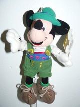 "Disneyland Globe-Trotting German Mickey Bean Bag 7"" - $6.89"
