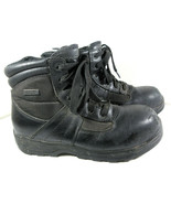 Thorogood Waterproof Composite Safety Toe Side Zip Boots 804-6190 Size 7... - $24.70