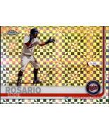 Eddie Rosario 2019 Topps Chrome X-Fractor Parallel Card #147 - $2.00