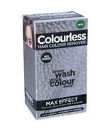 Colourless MAX EFFECT Hair Colour Remover Ammonia & Bleach Free Black Br... - $20.77