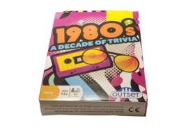 Eighties Trivia Card Game - 1980's A Decade Of Trivia