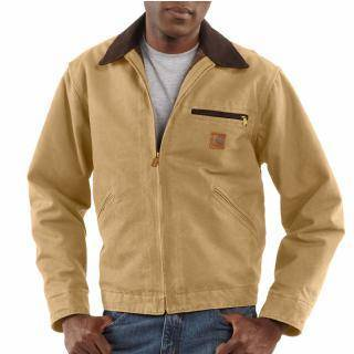 carhartt  jacket 4xl j97 cml sandstone duck detroit jacket mens 4xl regular