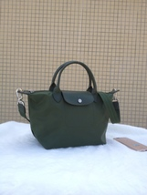 Longchamp Le Pliage Medium Moss Green Handbag Neo Shoulder Strap 1512578749 - $84.99