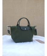Longchamp Le Pliage Medium Moss Green Handbag Neo Shoulder Strap 1512578749 - $79.99