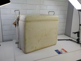 VINTAGE 1950-60's VINYL COCA-COLA COOLER W/Opener-tray-Royal Mieco USA - $125.00