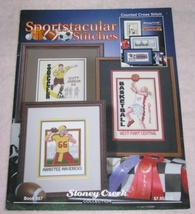 Sportstacular Stitches Counted Cross Stitch Booklet  - $9.95