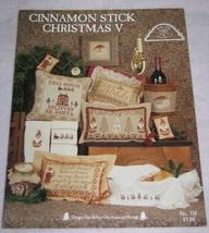 Cinnamon Stick Christmas V Cross Stitch Patterns  - $7.00
