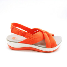 Cloudsteppers by Clark Womens Arla Belle Jersey Sport Sandals Coral 8.5M - $37.61