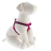 Top Paw® Hearts Pink and Black Adjustable Dog Harness XSmall - $14.99