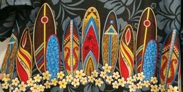 Mens Hawaiian Tervoile Shirt Surfboards Water Sky Creations Multicolor X... - $32.90