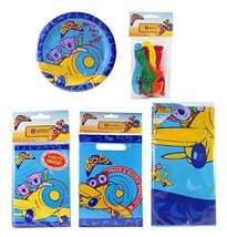 Koala Brothers 5 Piece Party Set - 8 Plates, 1 Tablecover, 8 Balloons, 8... - $18.90