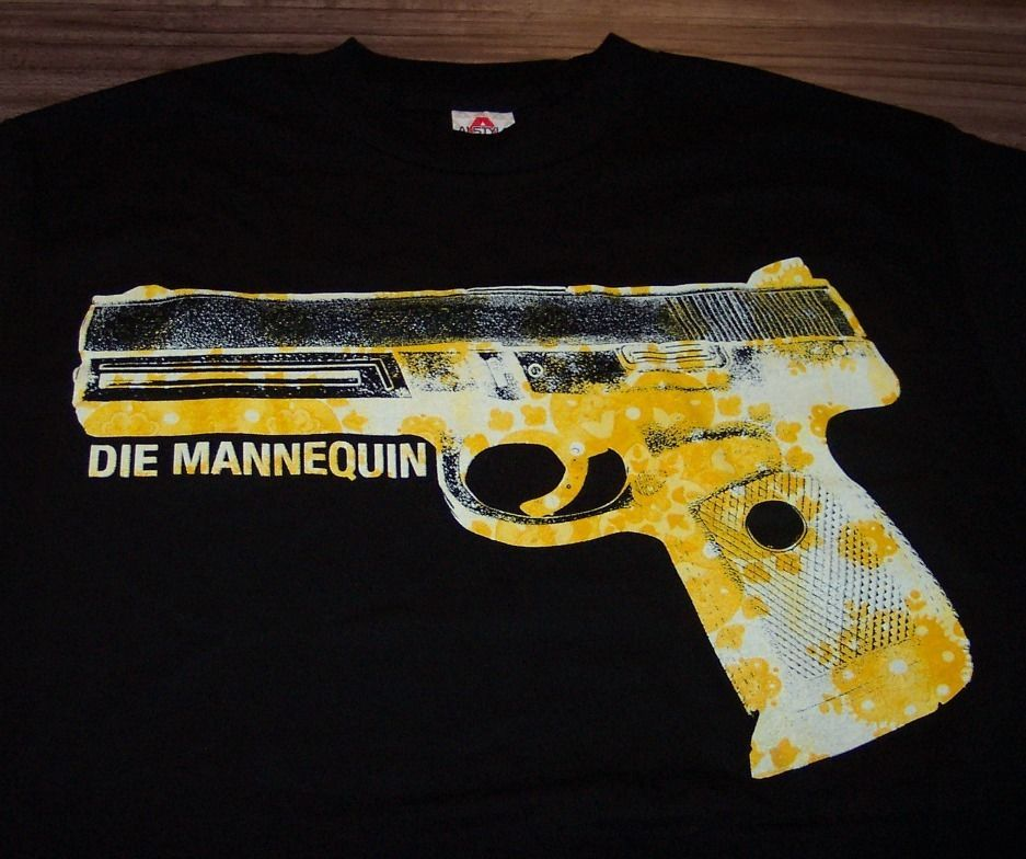 DIE MANNEQUIN T-Shirt MEDIUM NEW Band