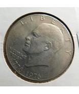 1976 Eisenhower Silver Dollar - $17.99
