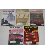 Lot of 4 New Mexico Magazine 2001 Back Issues  - $12.00